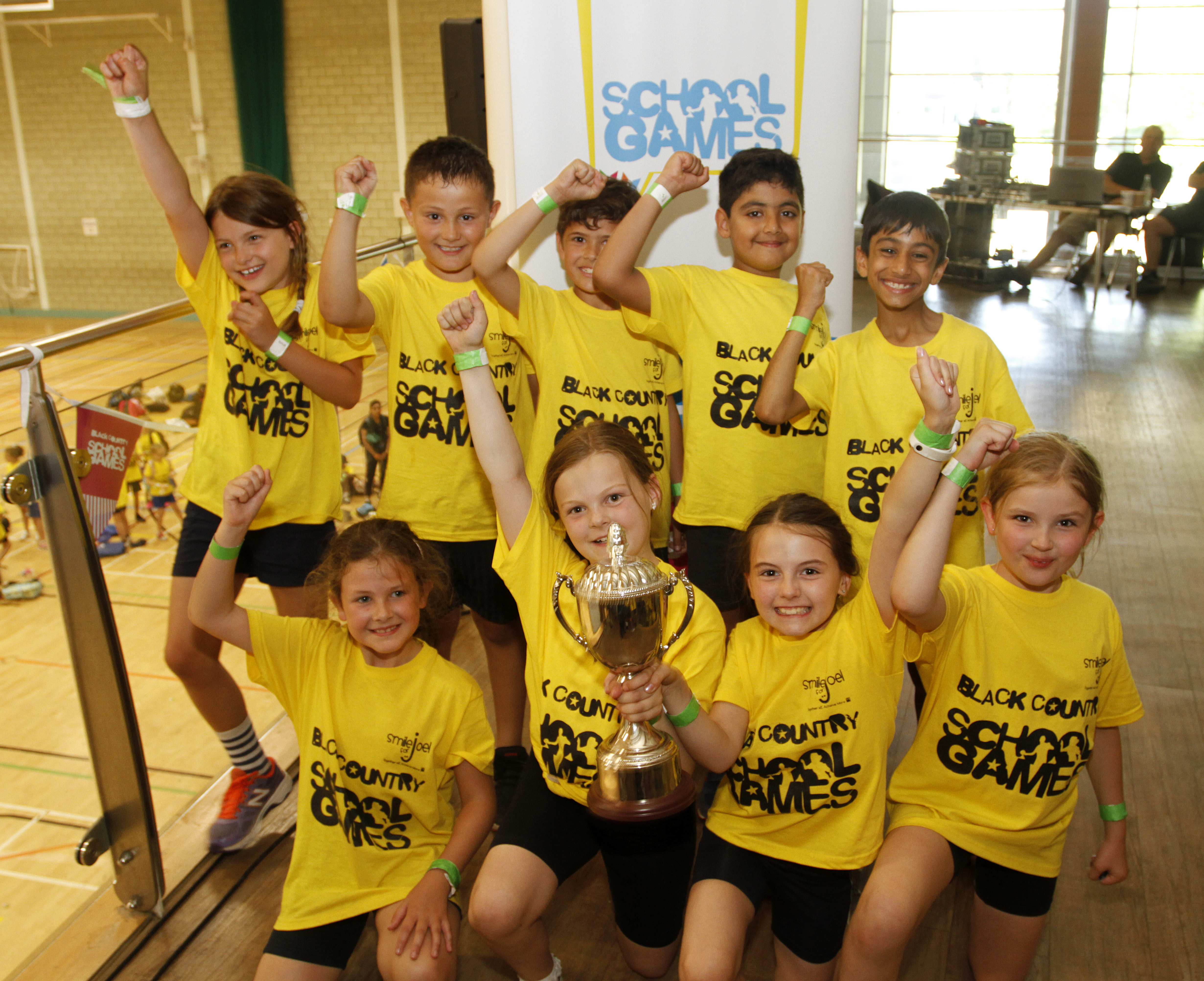 Wolverhampton win the Black Country School Games Summer Festival for the 2nd year in a Row