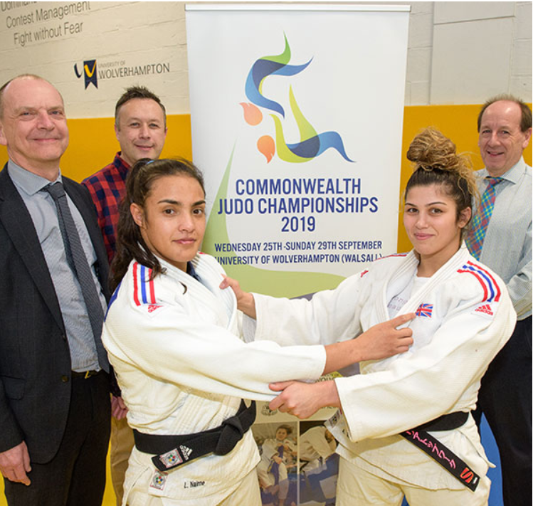Walsall to host 2019 Commonwealth Judo Championships