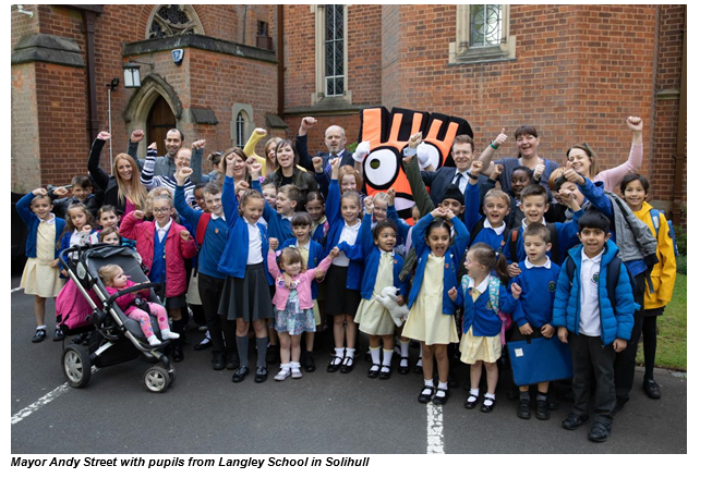 More West Midlands children walking to school thanks to Living Streets campaign