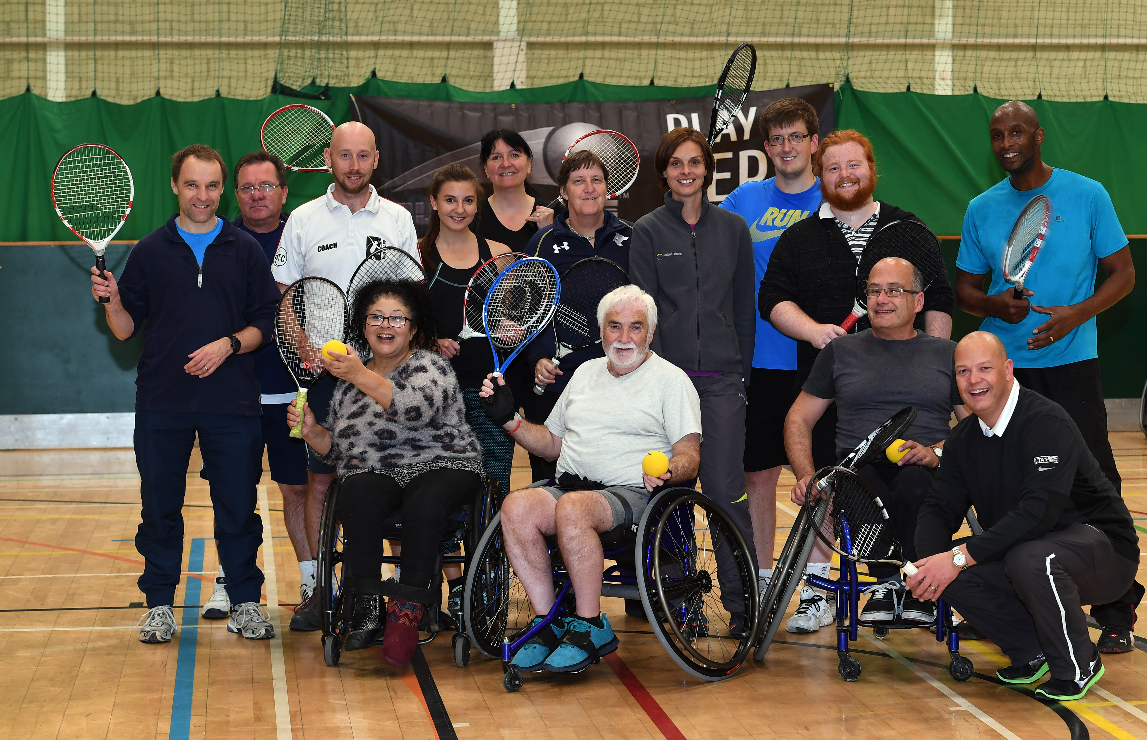 Walsall Man Becomes First Wheelchair Athlete To Take Part In New Tennis Tournament