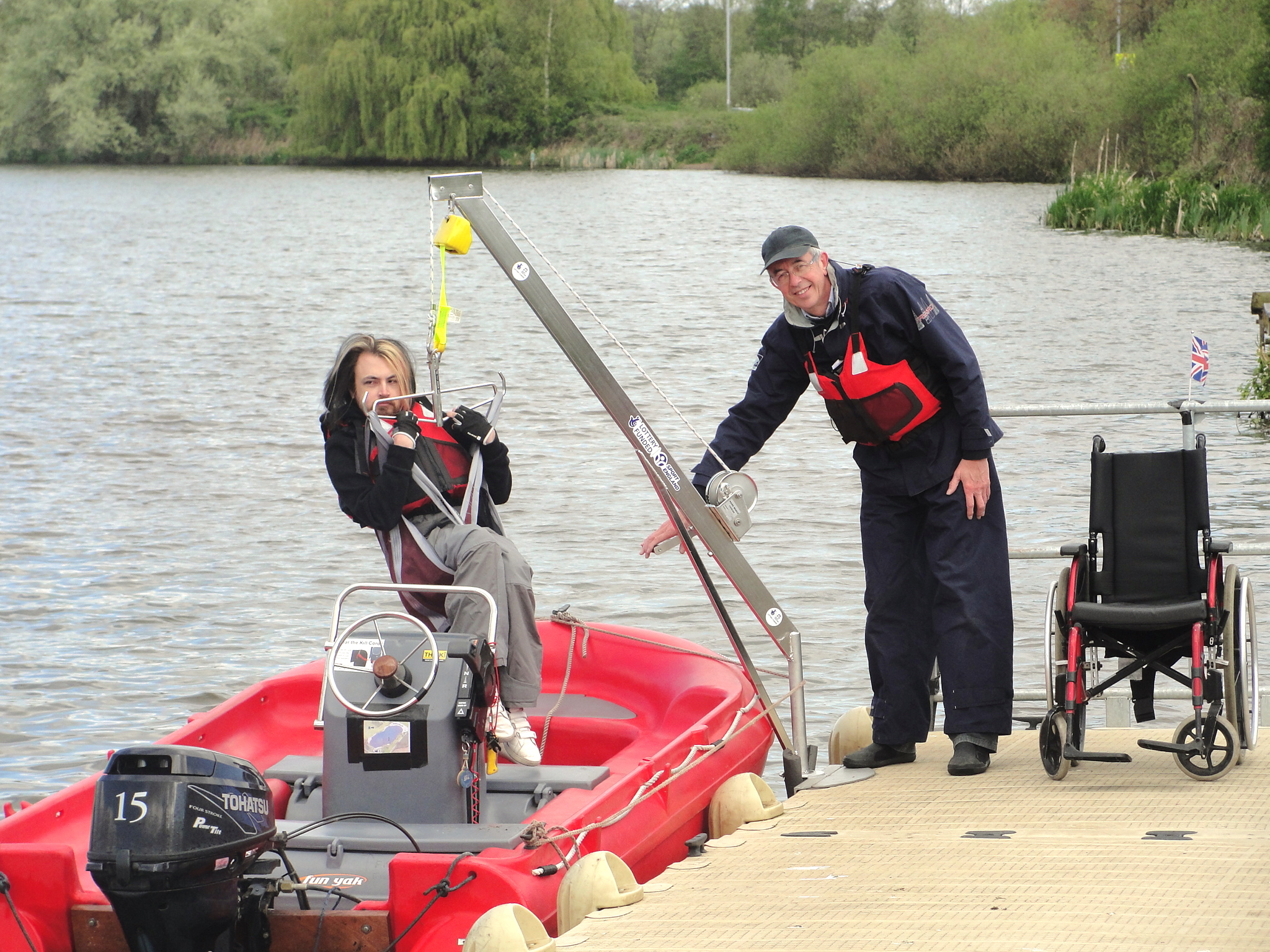 Aldridge welcomes new £37,000 Disabled Sailing Facilities as Free Sailing Continues