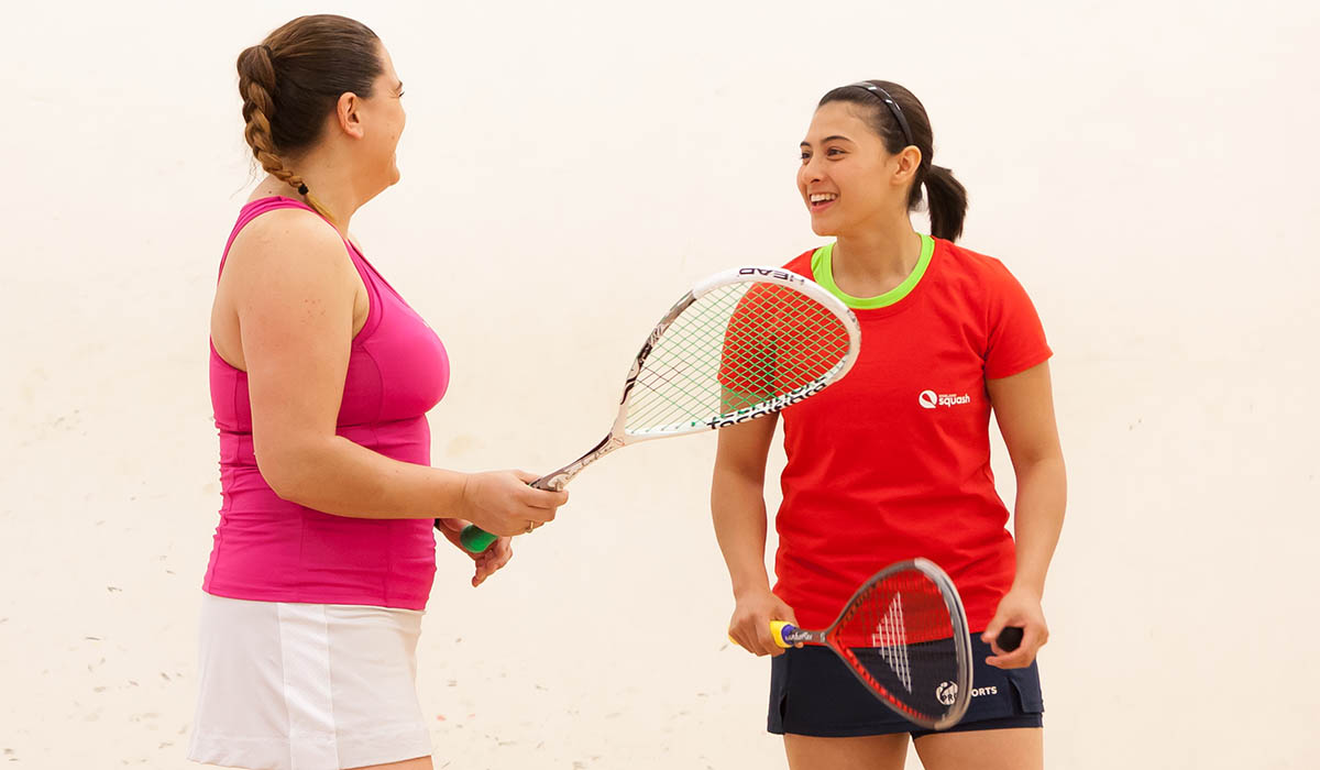 Squash Girls Can subsidised coaching courses