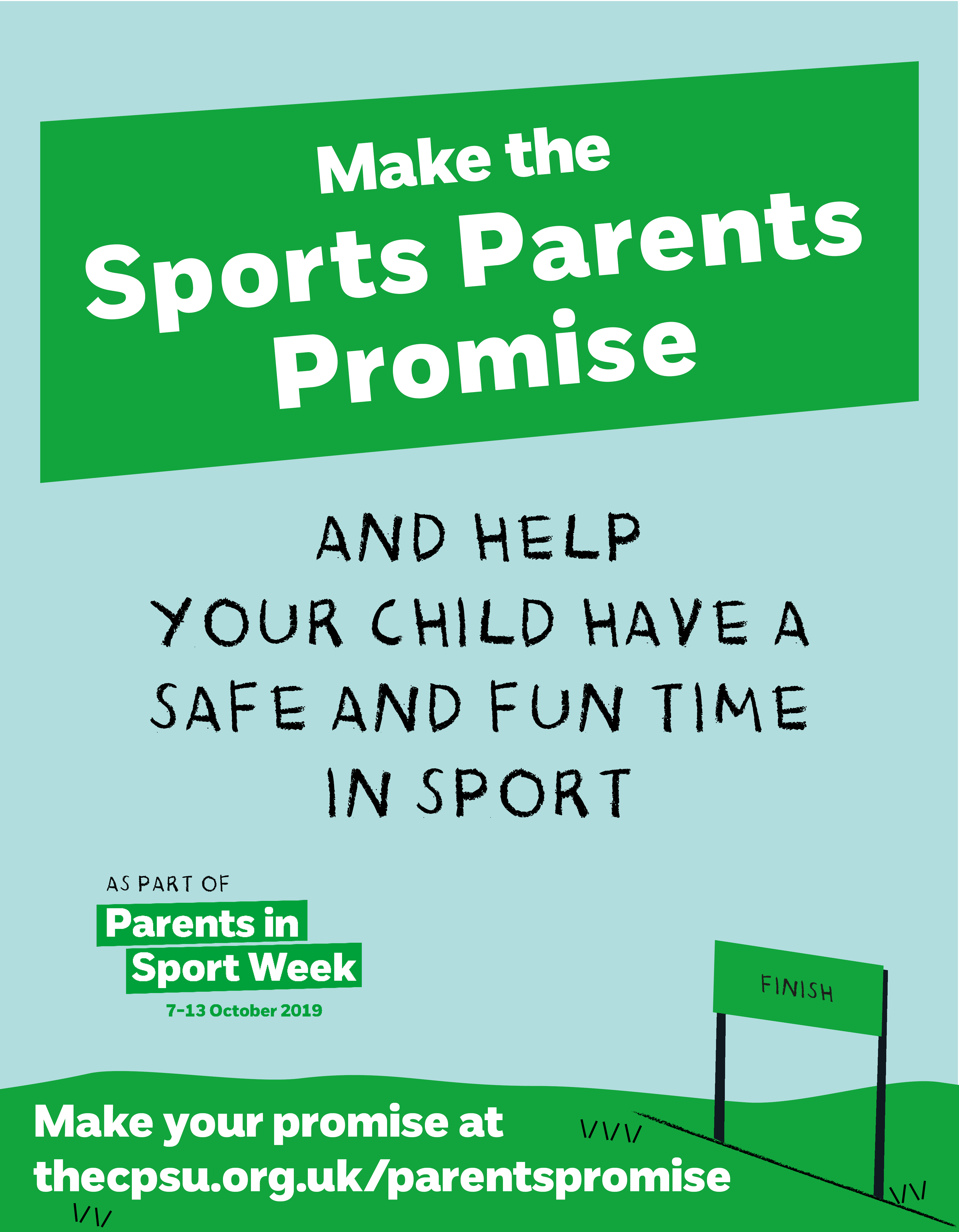 CPSU Launches the Sports Parents Promise