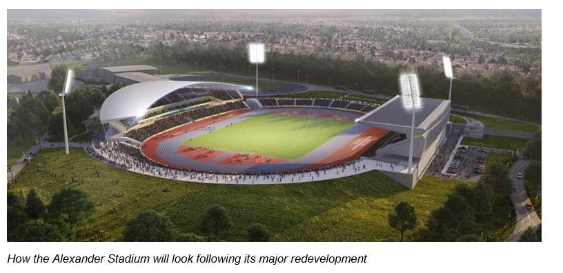 £25m contribution for Alexander Stadium redevelopment approved