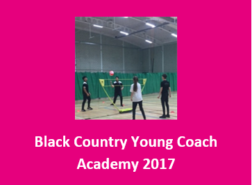 Black Country Young Coach Academy 2017